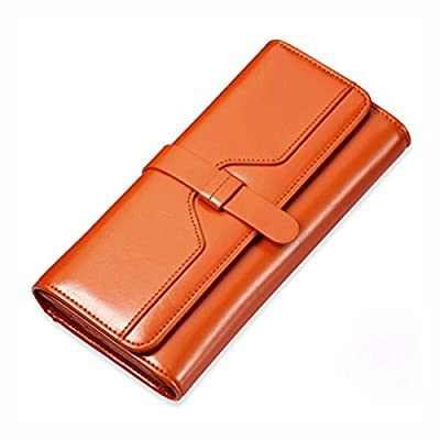 ZLR Mme portefeuille Portefeuille Wallet Ladies Long-Section Porte-monnaie à grande capacité Portefeuille pliable multifonction Wallet