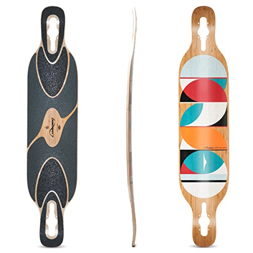 Loaded Boards Dervish Sama Bamboo Longboard Skateboard Deck (Flex 2) - Dervish Flex 1 Sama