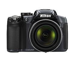 Nikon Coolpix P510 Compact Digital Camera - Gunmetal (16.1mp, 42x Optical Zoom) 3 Inch Lcd