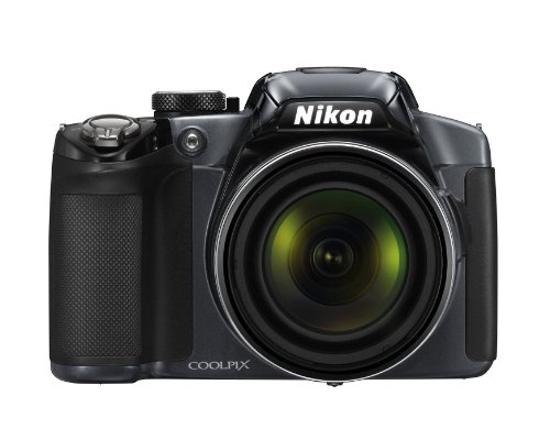 Nikon Coolpix P510 Digitalkamera (16 Megapixel, 42-fach opt. Zoom, 7,5 cm ( 3 Zoll) Display, GPS, bildstabilisiert) anthrazit 16,1 Mp Cmos-sensor