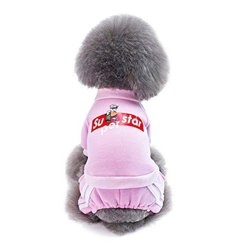 Haustierkleidung, Mode Sportbekleidung Hundebekleidung Hundebekleidung Hundemantel Hundemantel Teddy Bichon SL-021 (Farbe: ORANGE, Größe: M),c,M