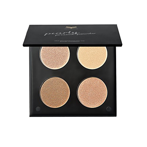 Segolike 4 Colors Makeup Face Powder Highlight Concealer Contouring Bronzer Foundation Cream Shade Kit - 1#