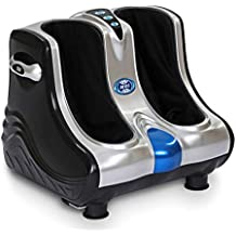JSB HF05 Leg and Foot Massager (Silver-Black)