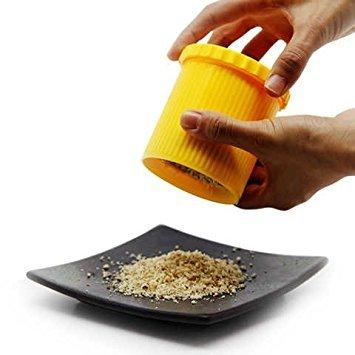 Astra shop manuale dado smerigliatrice smerigliatrice di arachidi pratico gadget da cucina–giallo