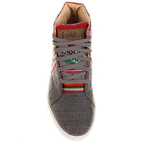 Chaussures montantes mixtes Gris