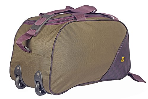 Top Gear Combat Polyester Green Soft Duffle bag