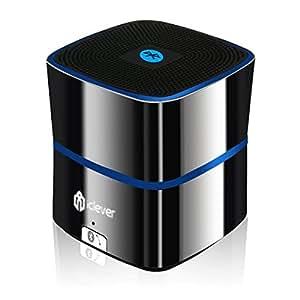 iClever® IC-BTS02 5W Mini Speaker Bluetooth 4.0 portatile con bassi potenziati, alta definizione, 8-12 ore di autonomia, per Smartphone, Tablet, PC, Mac e Laptop