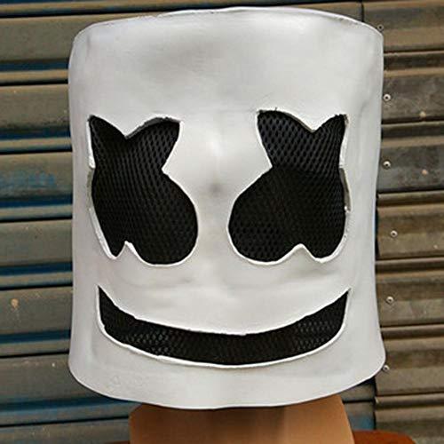 al Maske DJ Mask Hood Scary Horror Zombie Maske für Halloween Kostümparty Maskerade Nachtclubbar ()