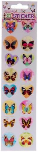3D Beautiful Butterfly Stickers - 16 Stickers Per Pack B006WC2DNM   Laissons Nos Produits De Base Aller Dans Le Monde