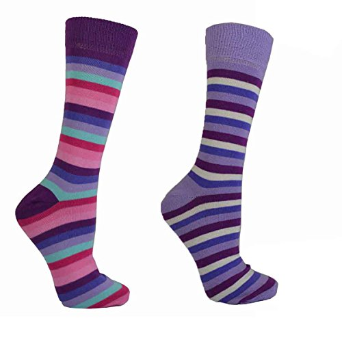Mens Socks Cotton Rich, Comfortable, Breathable, Designer Gents Essential Striped Socks