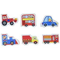 Meadow Kids Great Gizmos Trucks and Trains Bath Stickers