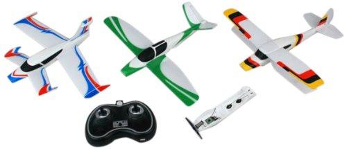 Amewi 24034-3 en 1 Clamp and fly - 3 des modèles de vol (V de Tail/Canard/Biplane) de RTF