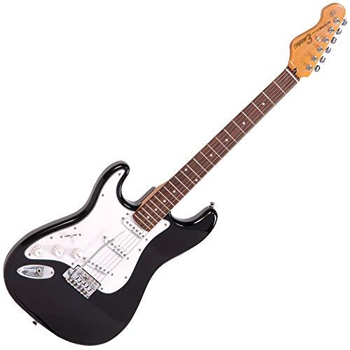 Encore LH-E6BLK E6 Hochglanz Blaster linkshänder E-Gitarre schwarz