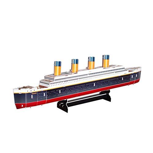 TrifyCore Titanic Modellbau Puzzle Set Intellective Gebäude-Ziegelstein 3D Puzzle DIY pädagogisches Spielzeug für Erwachsene und Kinder 32pcs