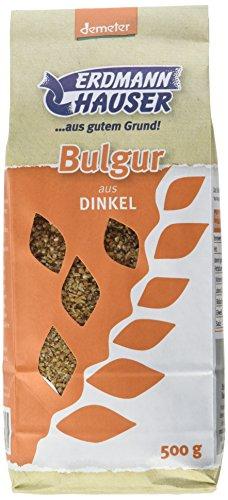 Erdmann Hauser Bio Dinkel Bulgur, 6er Pack (6 x 500 g)