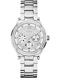 Guess Damen-Armbanduhr Chronograph Quarz Edelstahl W0331L1