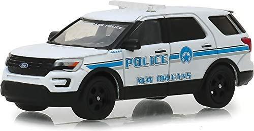 Greenlight 2016 Ford Explorer - Police Interceptor Utility New Orleans, Louisiana 1:64 (Ford Police 1 64)