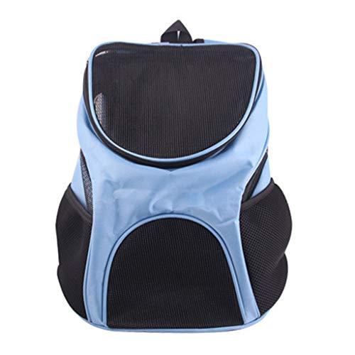 sayletre Pet Carriers Puppy Bags Hunde Katzen tragen Rucksack Kaninchen Rucksack Folding Pup Pack mit atmungsaktivem Mesh-Design 11,81 x 9,45 x 11,81 Zoll -