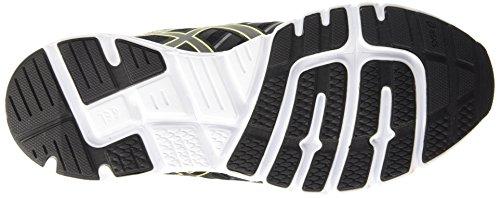 Asics Gel-Zaraca 4, Chaussures de Running Compétition Homme Noir (black/onyx/flash yellow 9099)