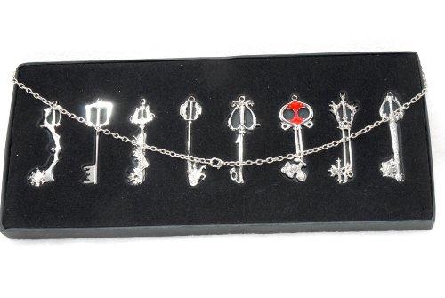 kingdom-hearts-necklace-sora-keyblade-8pcs