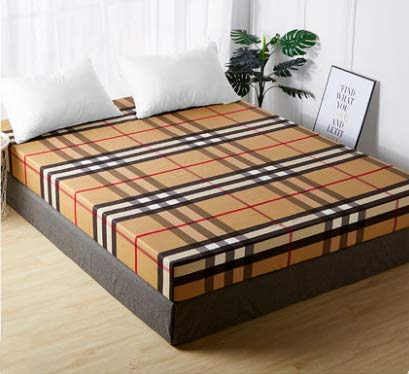 Plaid Feeling Pattern Sheets Cotton Cotton Bed