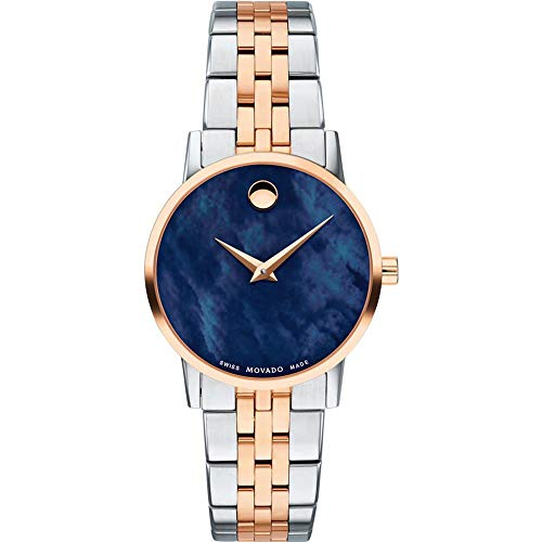 Movado Women's Museum Classic 28mm Steel Case Swiss Quartz Watch 0607268