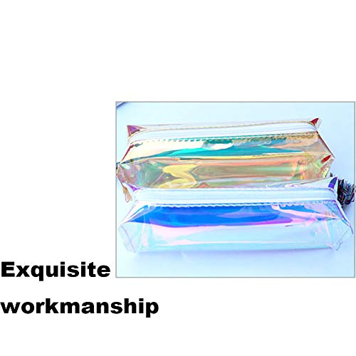 Bolso de almacenamiento para estudiantes con estuche de lápices Transparente