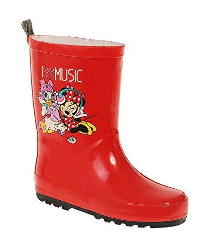 Disney Minnie Girls Rain boots - red