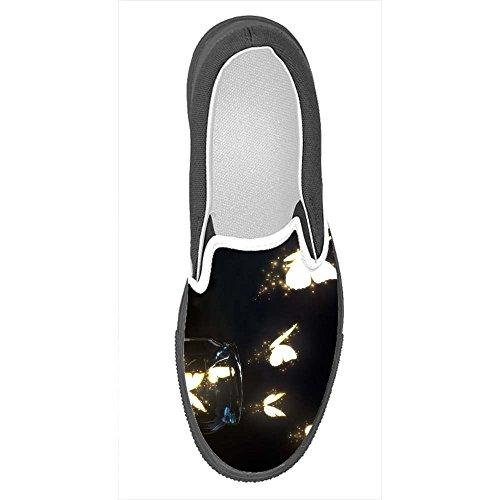 Dalliy costume Farfalla Slip-on scarpe di tela delle donne
