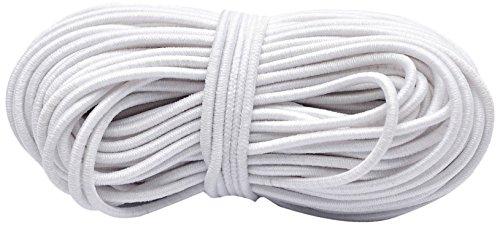 Unlimited, elastisch, 1 mm, 10 m, Weiß