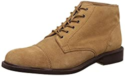 Carlton London Mens Nichol Tan Leather Boots - 10 UK/India (44 EU)