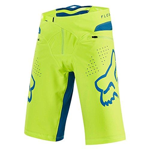 FOX Bike-Short Flexair, Yellow, Größe 34 (Fox Bike Short)