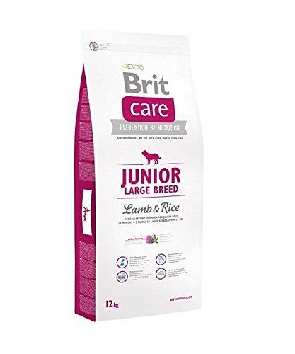 Brit Care Junior Lamm und Reis Hundefutter , 1er Pack (1 x 12 kg) -