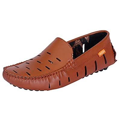 Fausto 775-40 Brown Men's Loafers