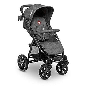 Lionelo 5902581656278 LO-Annet Concrete Stroller Pushchair (Dark-Gray)   6