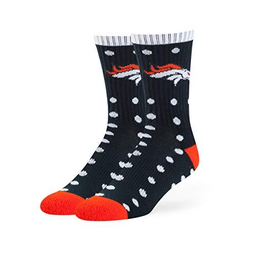 OTS NFL Denver Broncos lucelle Sport-Socken, Größe M, Marineblau