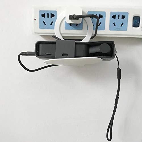 Preisvergleich Produktbild Wandmontage-Ladestation zum Aufkleben Floating Nightstand-Aufbewahrung Wandregale für Ipad-Tablet oder Telefonstativ,  Badezimmer-Schlafzimmer-Steckdose-Ste... Steckdose für Steckdosen