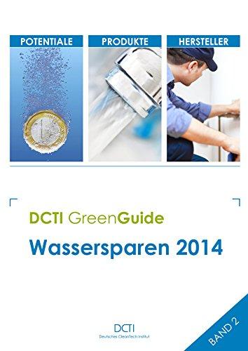 Wassersparen 2014 (DCTI GreenGuide) (Wasser-appliance)