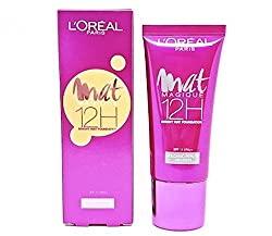 Loreal Paris Mat Magique 12 H Bright Mat Foundation SPF 11 PA++ (N3) with Ayur Freebie
