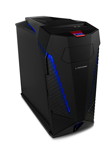 MEDION Erazer X5337F Gaming Desktop-PC (Intel Core i7-4790k, 16GB RAM HyperX Arbeitsspeicher, 240GB SSD + 3TB HDD Festplatte NVIDIA GeForce GTX 970 4GB GDDR5 Speicher, Windows 10 Home)