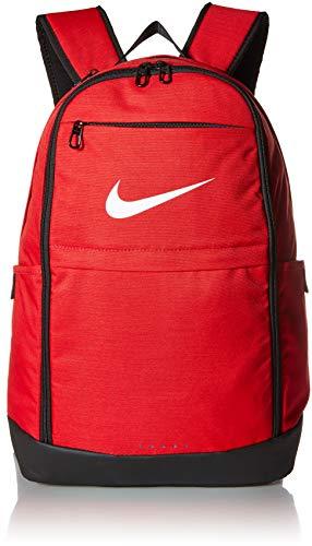 Nike Brasilia X-Large Rucksack, Unisex-Erwachsene, Tasche, Brasilia X-Large Backpack, University Red/Black/White, Misc - X-large-tasche