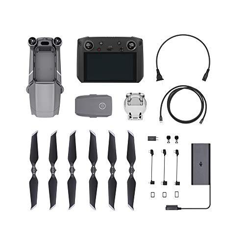 DJI Mavic 2 Pro Drohne + Smart Fernsteuerung (5.5u0022 Display) Combo Quadrocopter mit Hasselblad Kamera HDR Video Variable Blendenöffnung 20MP 1u0022 CMOS Sensor (EU Version)
