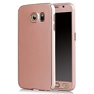 Mercator 360 degree full cover for Samsung Galaxy S6 Edge Plus - Rose Gold