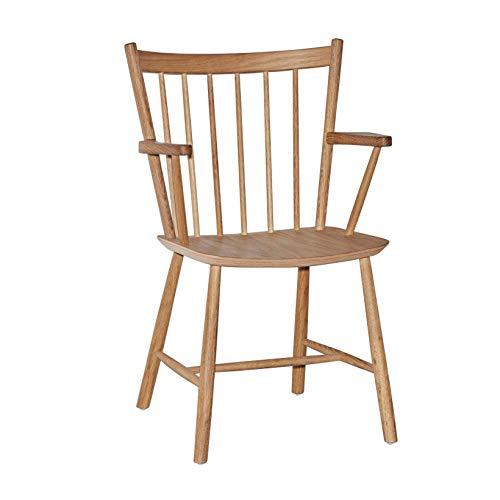 HAY J42 Chair Armlehnstuhl Gestell Eiche, Eiche Natur geölt