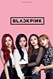 """Blackpink notebook : kpop funs  Rose , Jisoo , Jennie , Lisa    100 lined pages: Rose, Jisoo, Jennie, Lisa - Wide Ruled Notebook 8.5"""" x 11"""" with 150 Pages"""