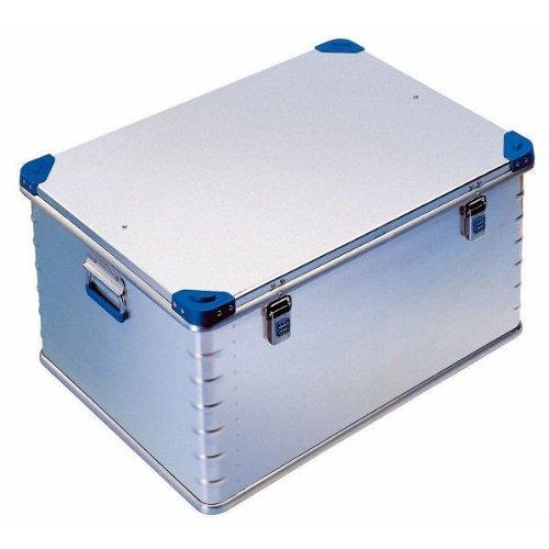 ZARGES Aluminium-Universalbox - Inhalt 157 l - Außenmaß LxBxH 800 x 600 x 410 mm - Alu-Box Alu-Kiste Aluminiumkiste Aluminiumkisten Box Eurobox Kiste Kiste Aluminium Kisten Aluminium Mehrwegbox Transport-Behälter Transport-Stahlbox Transport-Stahlboxen