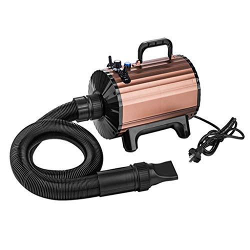 HYLH Pet Dog Grooming Hairdryer Blaster Blower Dryer 2300W Blowing Machine for Golden Retriever Hair High Power (Color : Brass)