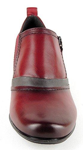 JANA Damen Trotteur Weite H bordeaux-antik LEDER Einlagen geeignet 24324 Bordeaux