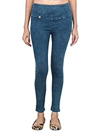 LondonHouze Green High Waist Jeans