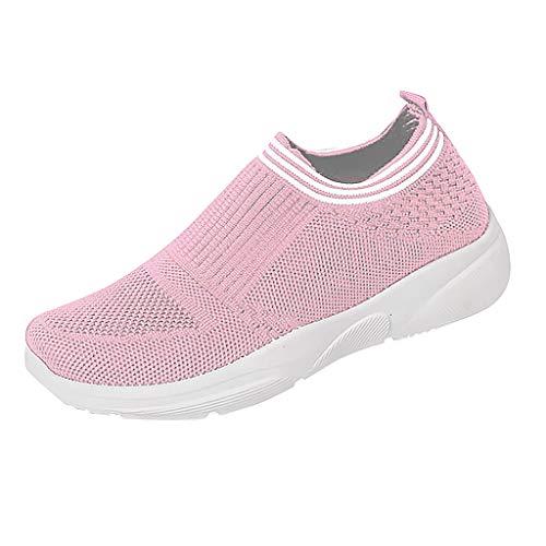 e Sneaker Slip Ons Casual Slippers Lederschuhe Platform Flacheh Schuhe Arbeits Stiefel Laufschuhe Cut-Outs Sommer Loafer Schuhe Atmungsaktive Freizeitschuhe Rutschfeste ()